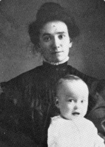 Esther with baby Ruby, 1908