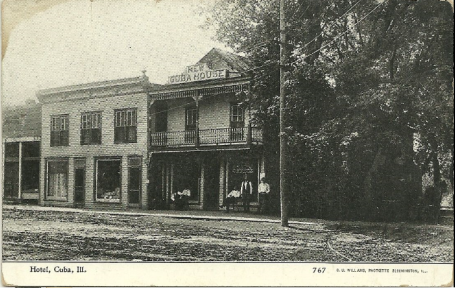 Cuba House hotel where Esther worked, c. 1911