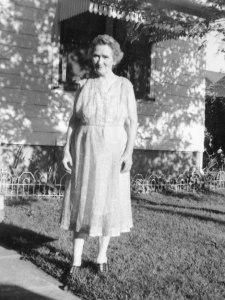 Esther on Waverly, c. 1961