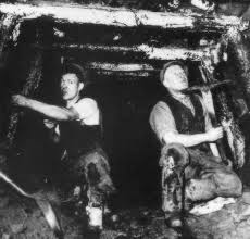 Coal mining in the Forest of Dean, undated photos.