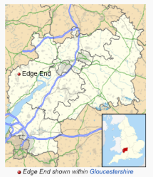 Edge End, Arthur's birthplace, is about three miles, as the crow files, from Wales