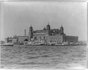 Ellis Island, c. 1900