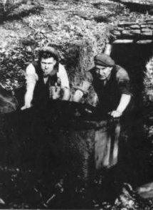 Mining was hard physical labor in dark and dirty conditions--and no protective gear.