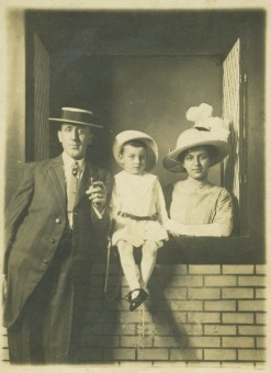 "Edward C, Edward E, and Martha, ""Saturday evening, June 22, 1912"""