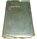 Grandma Nichols presented this bible to her grandson Don on his 12th birthday, October 2, 1949.