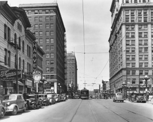 Downtown Peoria, early 1920s