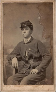 Willis Olmstead, another 16-year-old musician in Company E of the Fox River Regiment., enlisted just a few months after William. Did they become friends?